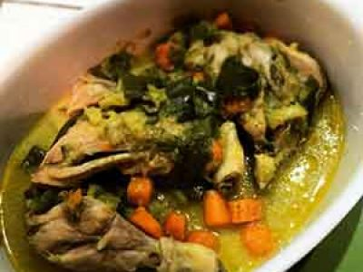 Stufato di Pollo con verdure
